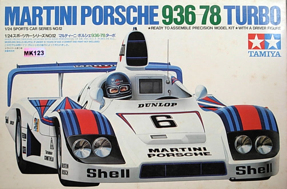 Martini Porsche 936-78 Turbo