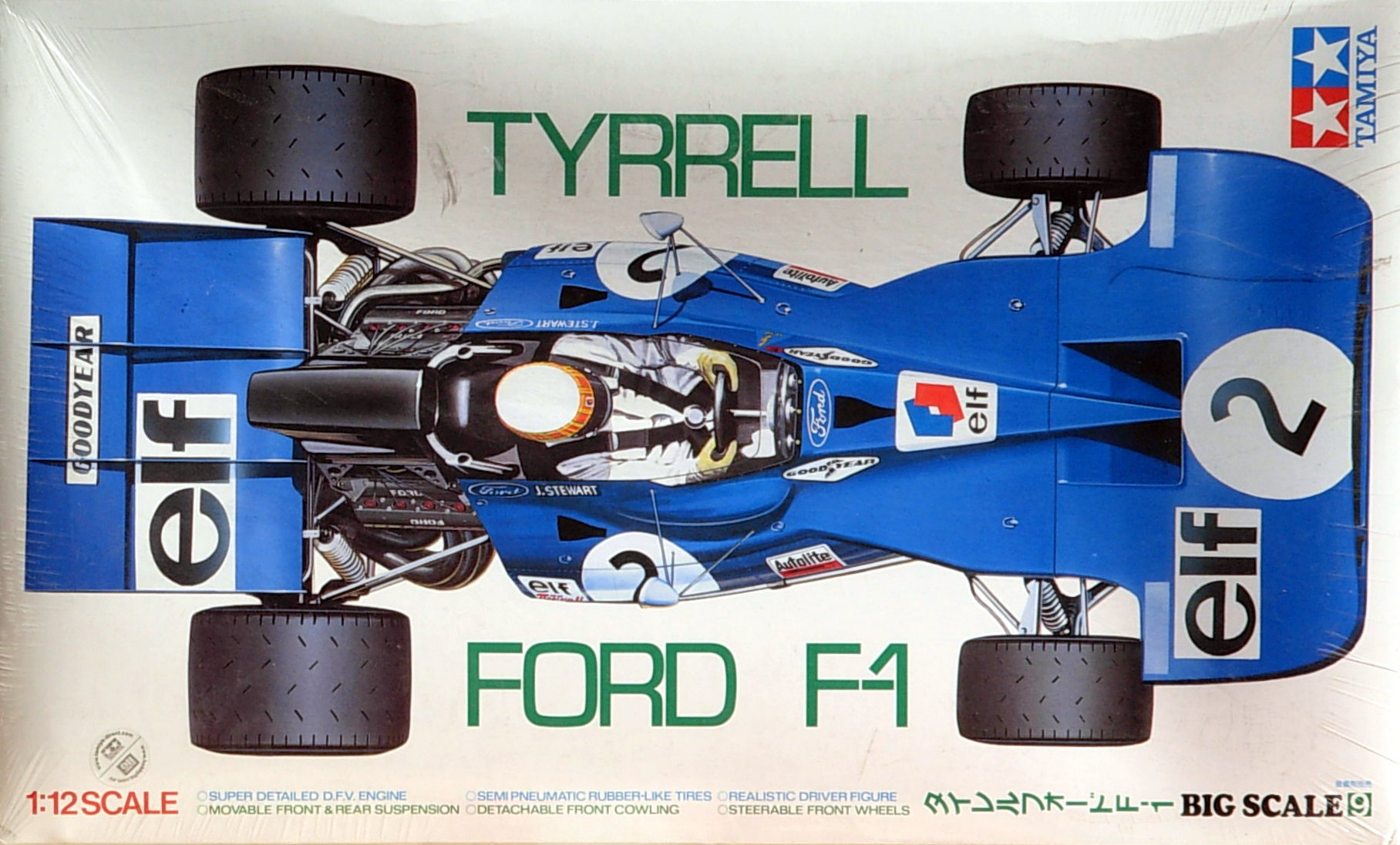 "Tyrrell Ford F-1 ""Jackie Stewart"" # 2 - Click Image to Close"