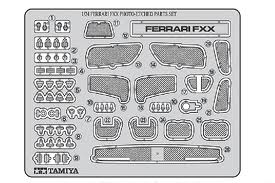 Ferrari FXX Photo-Etched Parts