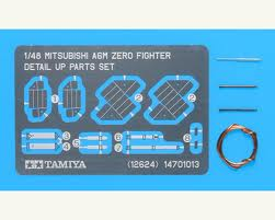 Mit A6M Zero Detail-up Parts set