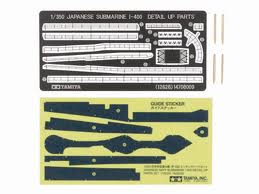 Jap Sub I-400 Etch Parts set