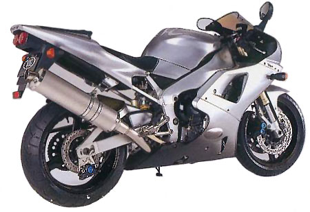 Yamaha YZF-R1 Full View