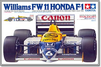 Williams FW-11 Honda F-1 (may have soiled decal)