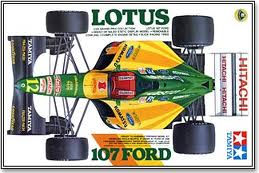 Lotus 107 Ford (may have soiled decal)