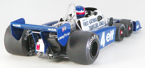 Tyrell Project34 (6 Wheeler) 1977 Monaco GP