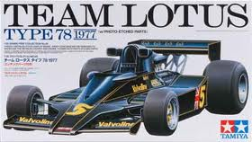 Team Lotus Type 78 1977 - w/Etched Parts