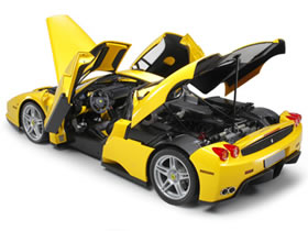 Enzo Ferrari (Yellow) - Collectors Club