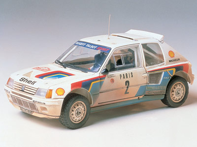 Peugeot 205 Turbo 16 Rally Car w/etch details