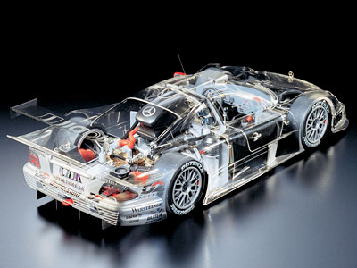 Full View Mercedes CLK-GTR