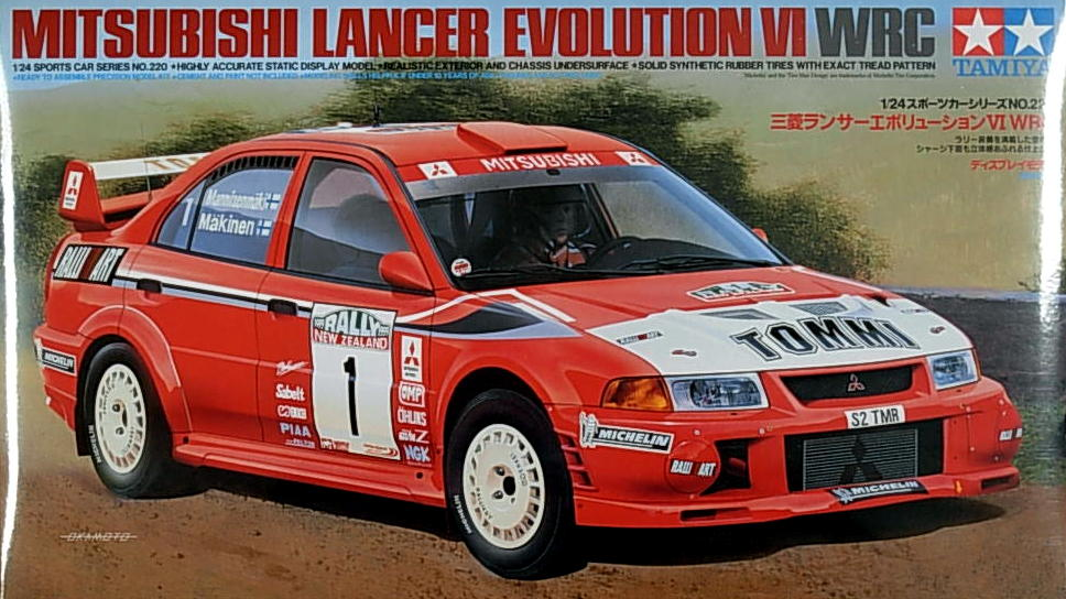 "Mit. Evolution VI WRC ""Ralli-Art"" Lancer"