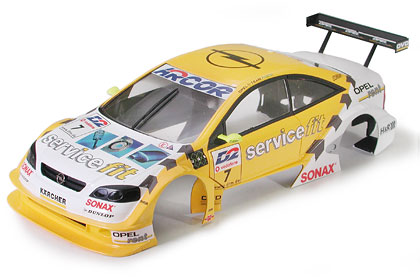 Opel Astra V8 full kit with Painted Body