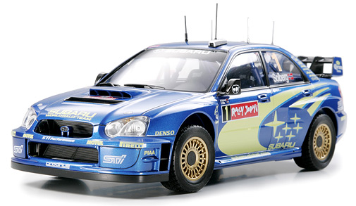 Subaru Impreza WRC 2004 Rally Japan - Click Image to Close