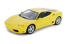 Ferrari 360 Modena Yellow Version
