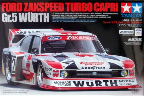 Ford Zakspeed Turbo Capri Gr.5 Würth
