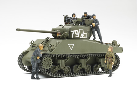 "M4A2(76)W Sherman - 1/35 ""Red Army"" (w/6 Figures)"