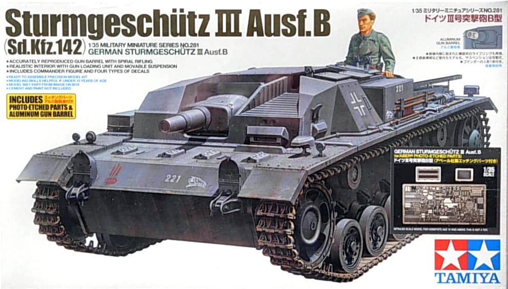 Stug III Ausf B with ABER etch and metal barrel