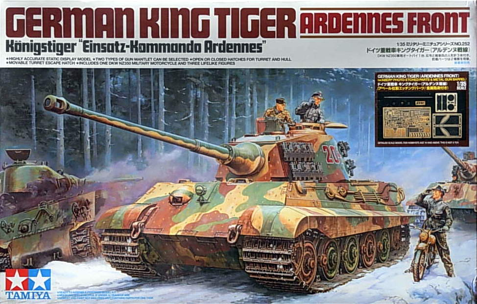 King Tiger with ABER etch and metal barrel