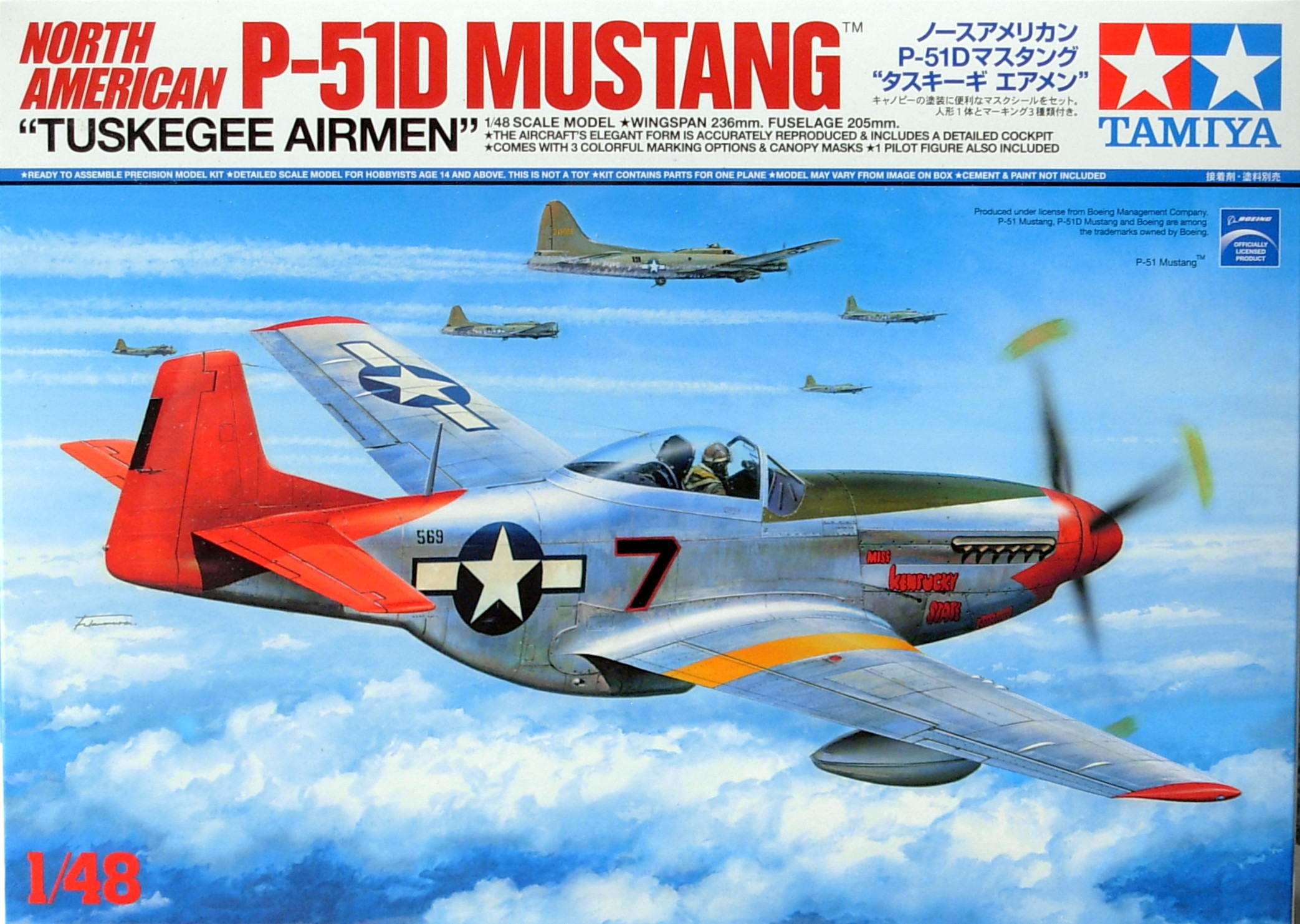 P-51D Mustang `Tuskegee Air Men`
