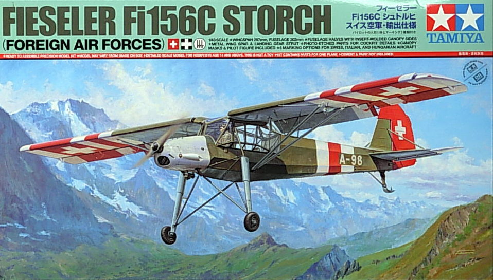Fi156C- Storch Swiss, Italian & Hungrian AF versions