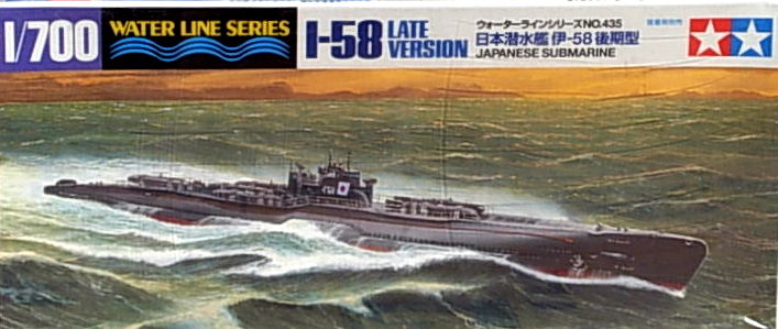 I-58 (Late Version) Submarine