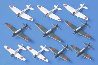 Jap. Naval Planes. Early Pacific War