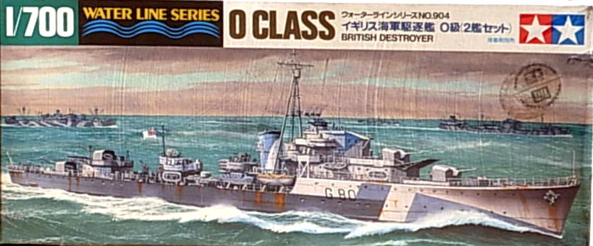 O Class British Destroyer