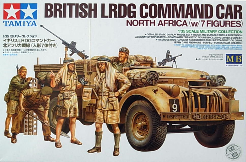 LRDG Command Car with figure set