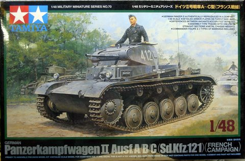 Panzer II Ausf A/B/C (French Campaign)
