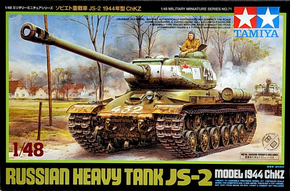 Russian Heavy Tank JS-2 Model 1944 ChKZ