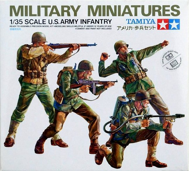 US Army Infantry (4 figures)