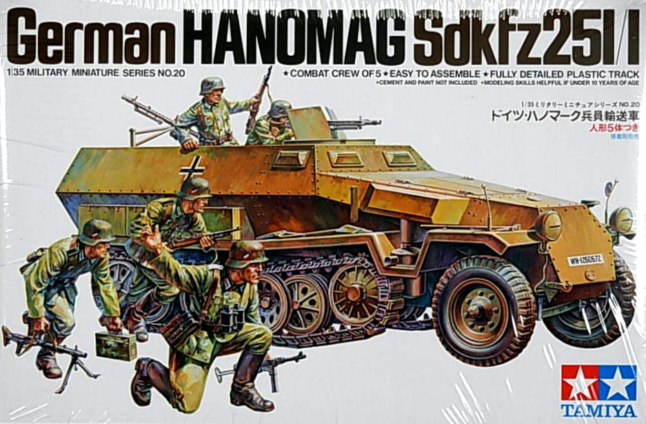 Hanomag Sd.Kfz 250/1 w/Assault troops
