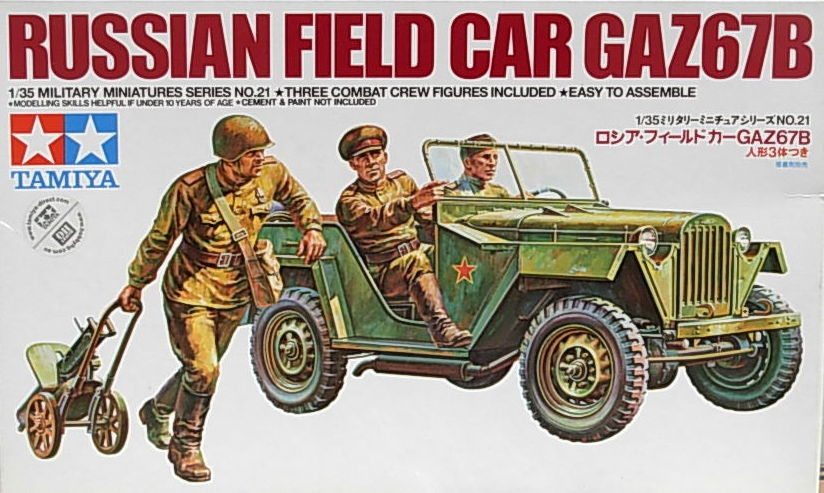 Russian Field Car GAZ67