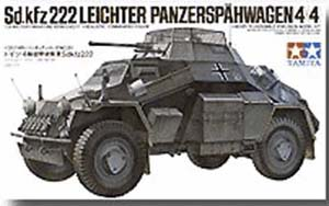 German Armored Car SdKfz.222