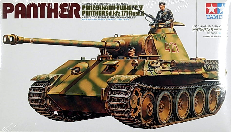 Panzer. V Panther Sd.Kfz. 171 Ausf. A