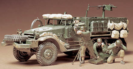 M-21 Half-Track with motar and crew