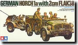 Horch 1a with 20mm Flak 38 w/crew (soiled)