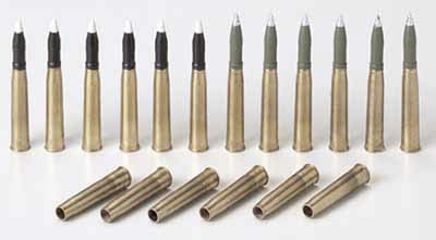Panzer IV. Brass Projectiles (75mm L48 KwK40)