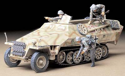MtI.SPW. Sd.Kfz.251/1 Ausf.D w/3 figures