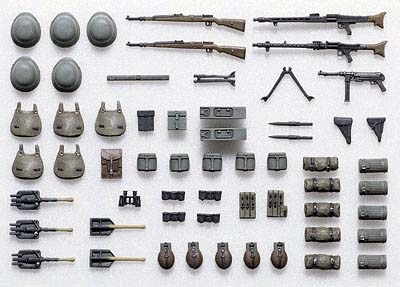 German Infantry Equipment Set A (Early/Mid WW II)