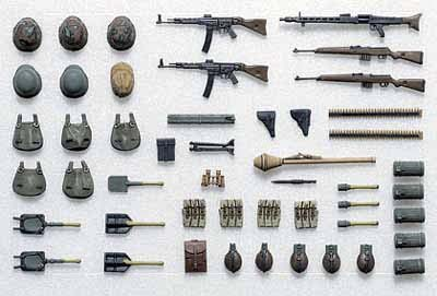 German Infantry Equipment Set B (Mid/Late WW II) - Click Image to Close