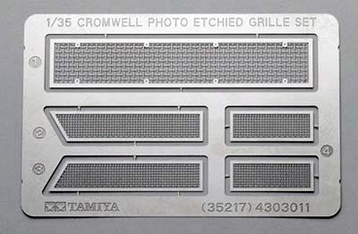 Cromwell/ Centaur Photo Etched Grille Set