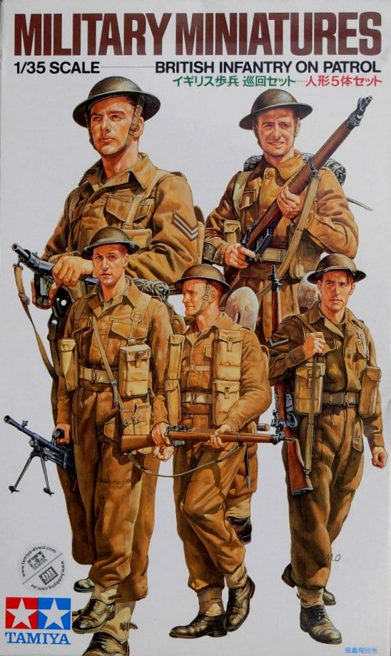 British Infantry on Patrol