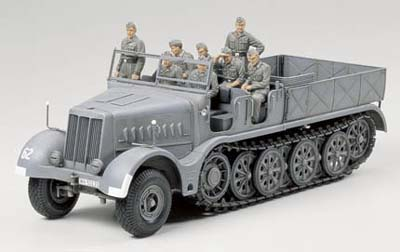 "German 18 ton Heavy Half-track ""Famo"""