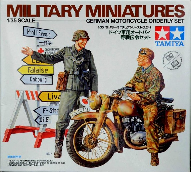 German Motorcycle (DKW-350) & Orderly Set