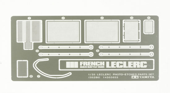Leclerc - French MBT- Photo-Etched parts set