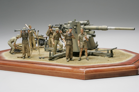 88mm Gun Flak36 North African Campaign