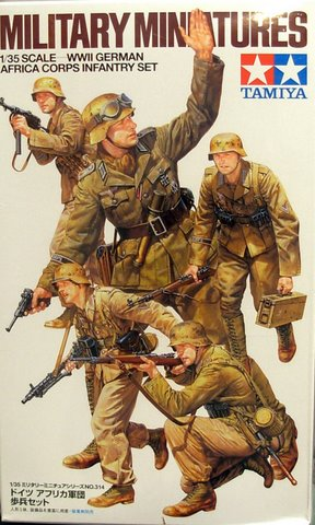 German Africa Corps Infantry Set