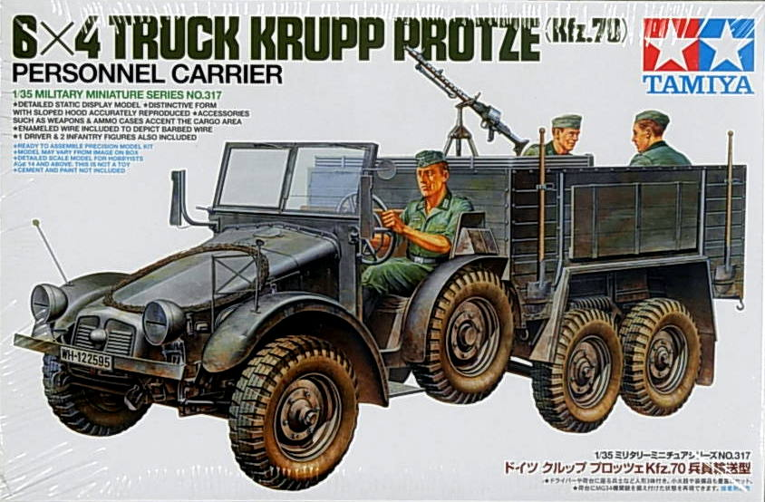 German 6X6 Truck Krupp