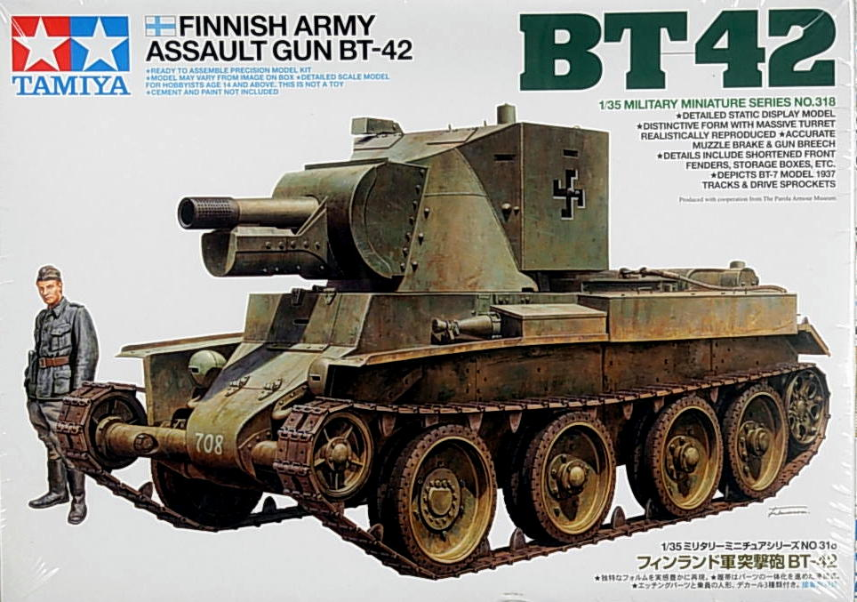 Finnish Army AG BT-42