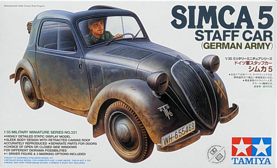 Simca 5 Staff Car